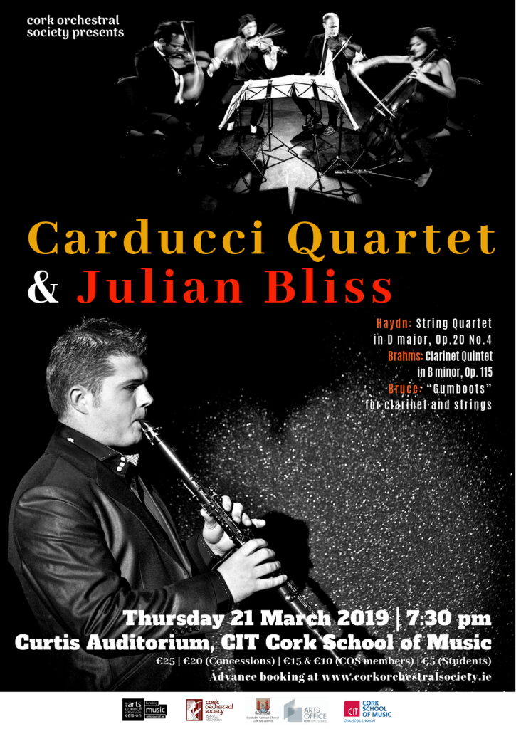 Carducci Quartet and Julian Bliss (corrected)