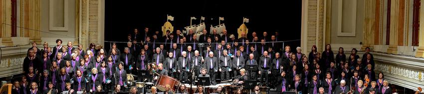 Fleischmann Choir banner