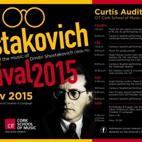 Shostakovich Festival screen advert (smaller)