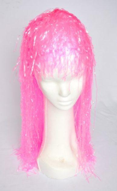 peluca plastica