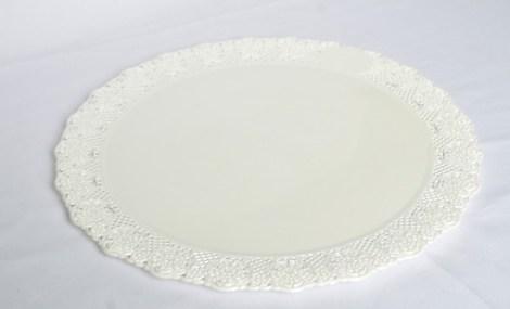 Bandeja Redonda Plastica para Torta N*24. de 16 cm de Diametro