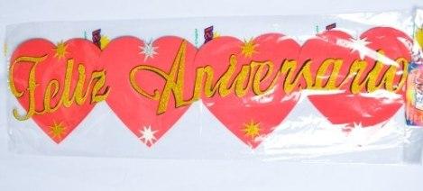 Cartel Feliz Aniversario