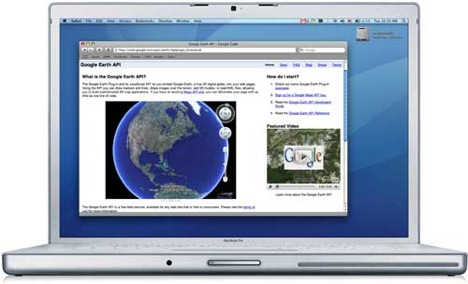 Google Earth Browser Plugin and Mac