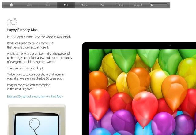 30th Happy Birthday, Mac