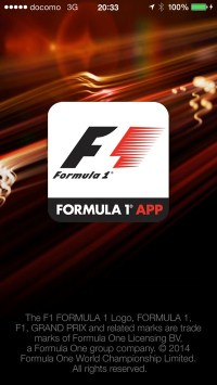 Official F1 App for iOS