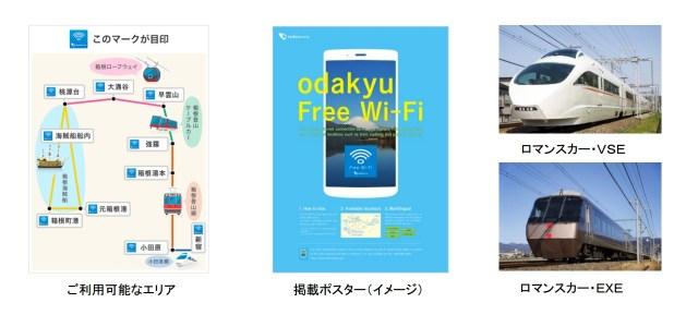 odakyu Free Wi-Fi アプリ