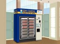 「Prepaid SIM for JAPAN」SIM自動販売機