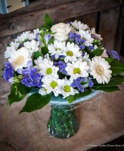 Blue Gift Vase