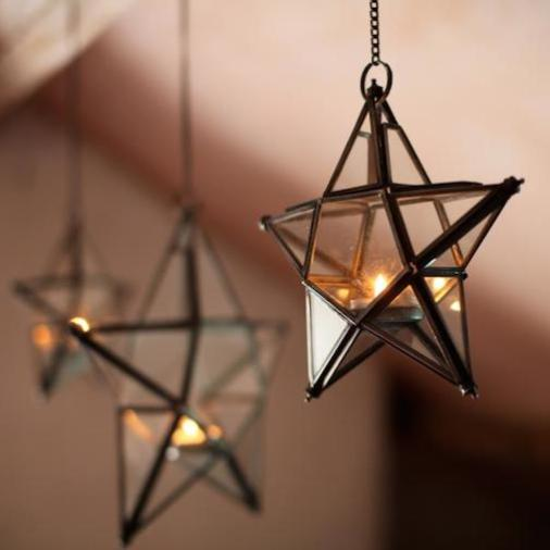 A-FS-N-FS-Antique Glass Stars-5