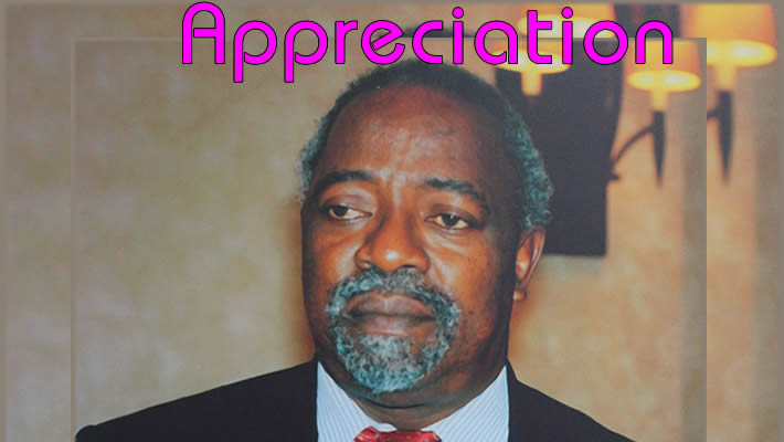 Appreciation; Hon. James Dennis Akumu