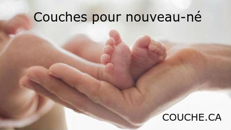 couches pour nouveau-né