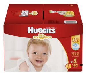 Couches Huggies Little Snugglers taille N