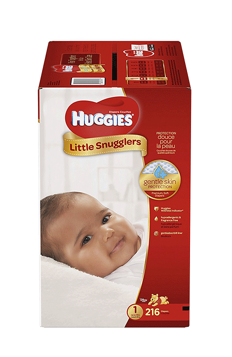 Huggies Little Snugglers Taille 1