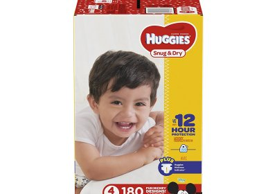Couches Huggies Snug and Dry taille 2