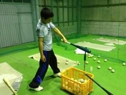 少年野球のバッティング技術カウント23