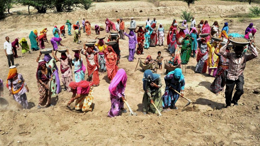 Demand for raising MGNREGA wages to Rs.600 | Countercurrents