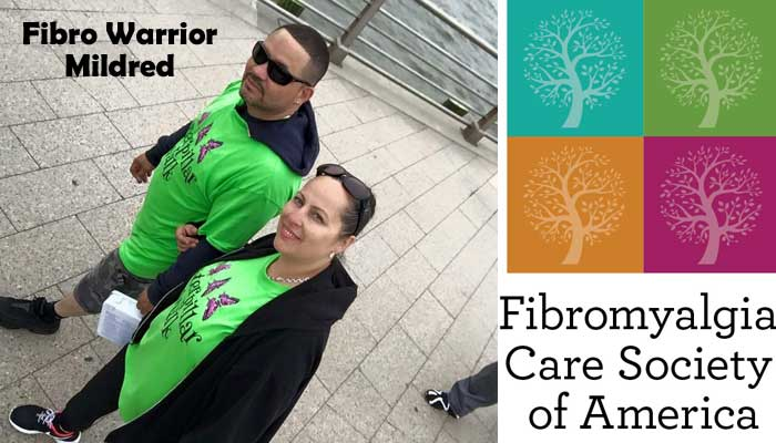 Fibro Warrior Mildred @FibroCares