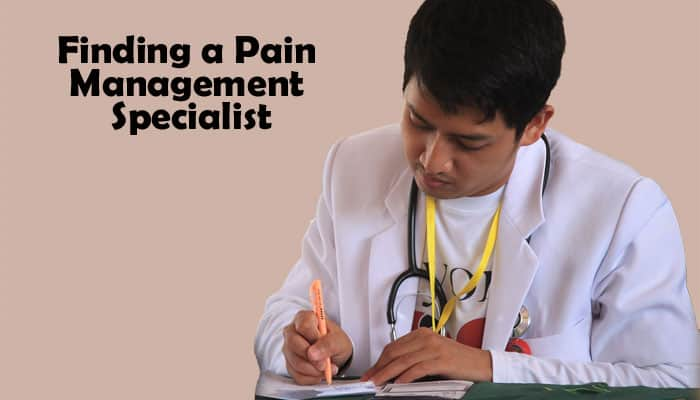 Finding a Chronic Pain Specialist