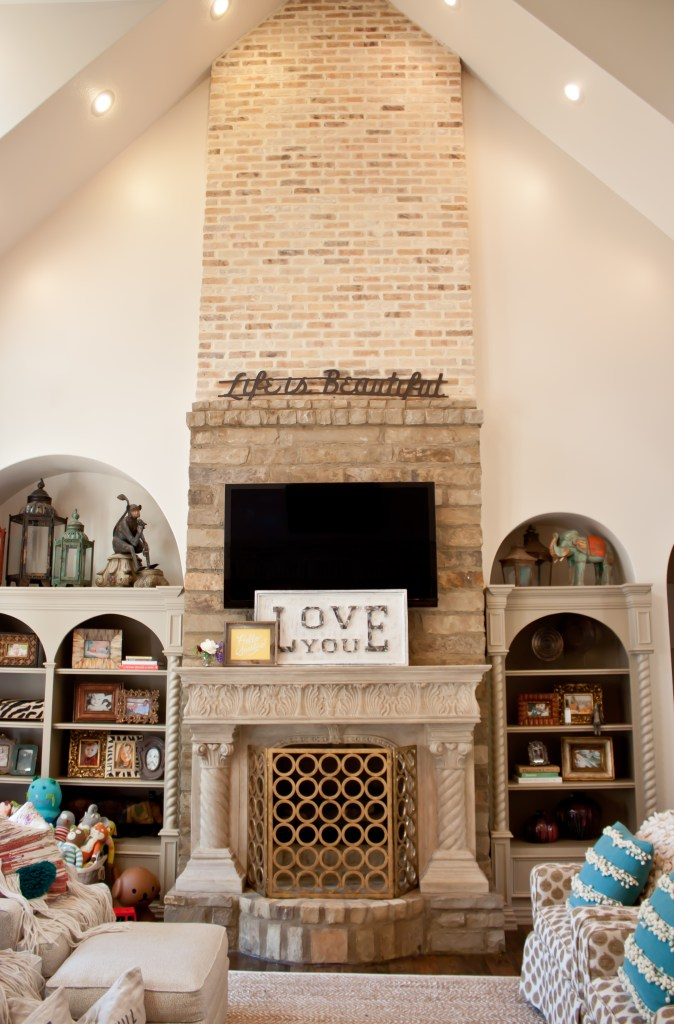 Living Room of Brittany Ragsdale-Sugg via Count Me Healthy