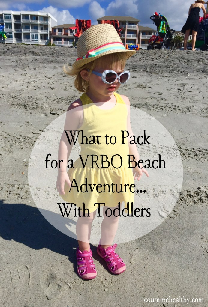 What to Pack for a VRBO Beach Vacation With Toddlers