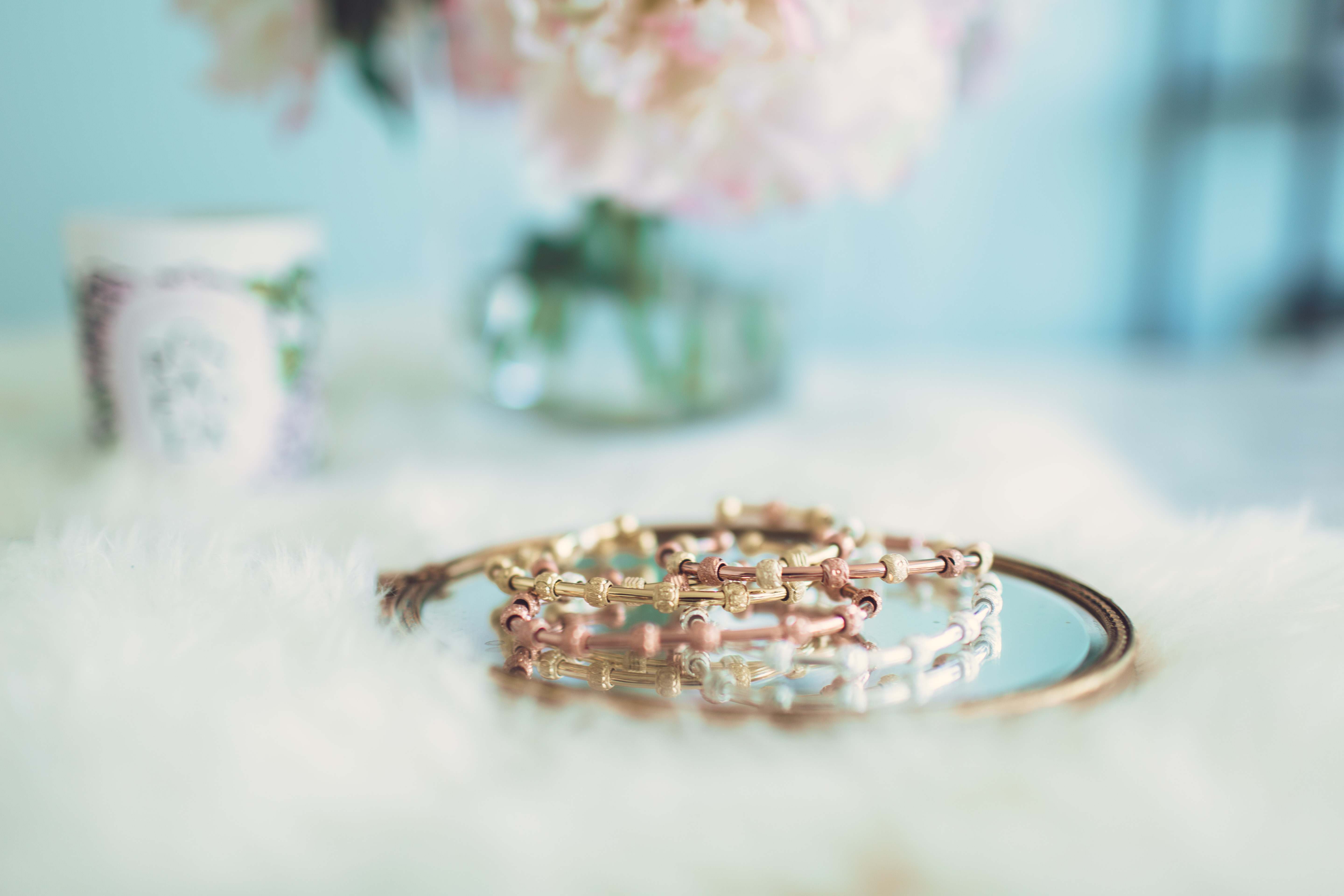 Count Me Healthy Bracelets by Chelsea Charles on The Skinny Confidential