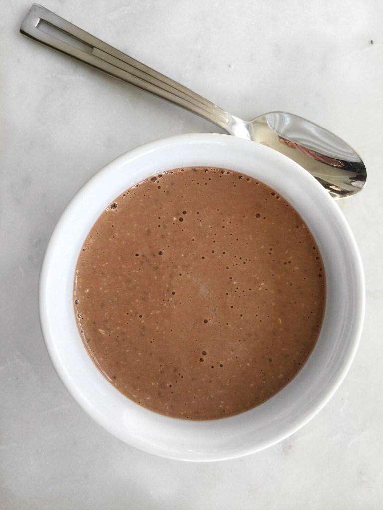 chocolate chia parfait via Count Me Healthy