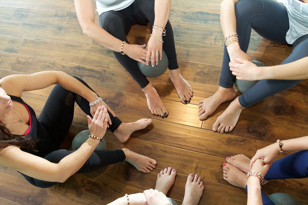 Barre Instructors Wearing Chelsea Charles Jewelry