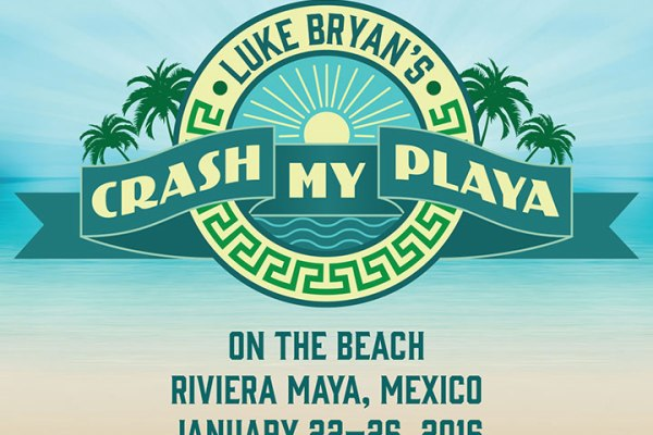 Festival de musique Country Crash My Playa organisé par Luke Bryan