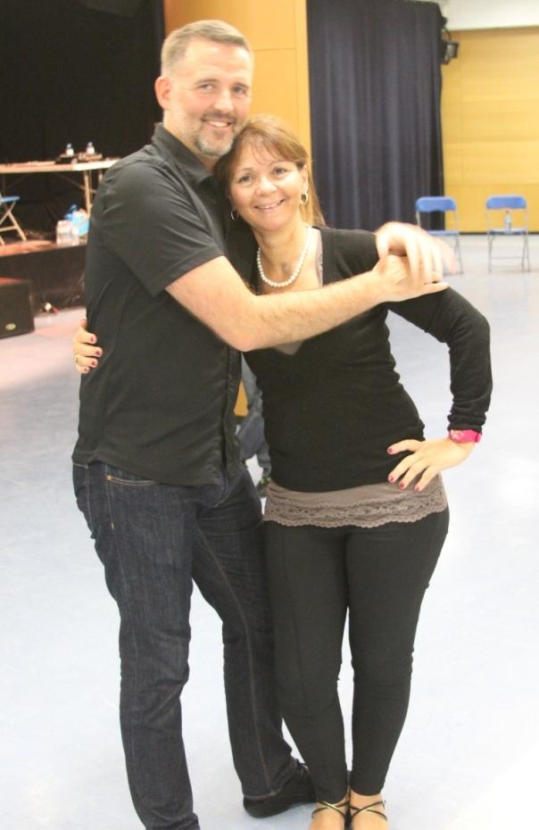 Niels Poulsen et Carolyne Sabatier
