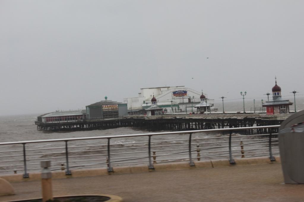 Une des jetées de Blackpool