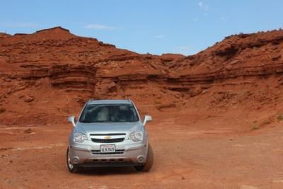 Un 4x4 pour visiter Monument Valley, c'est l'idéal !