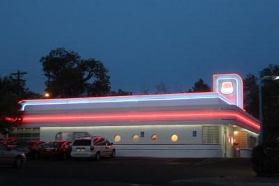 Albuquerque, un restaurant sur la Route 66 historique