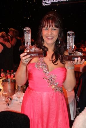 Ria Vos, fière de ses deux Awards