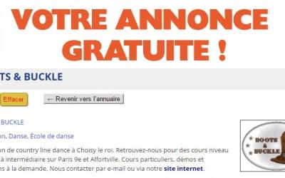 Le Guide Country-France : GRATUIT !