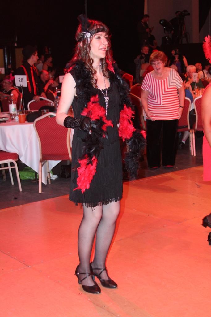 Séverine Moulin en danseuse de Charleston