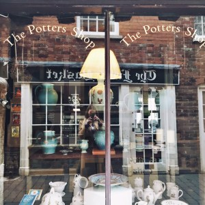 The potters shop in Ludlow