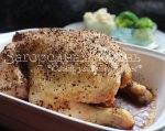 Курица в духовке. Как запечь курицу целиком. Рецепт, фото
