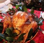Рождественская индейка, запеченная в духовке