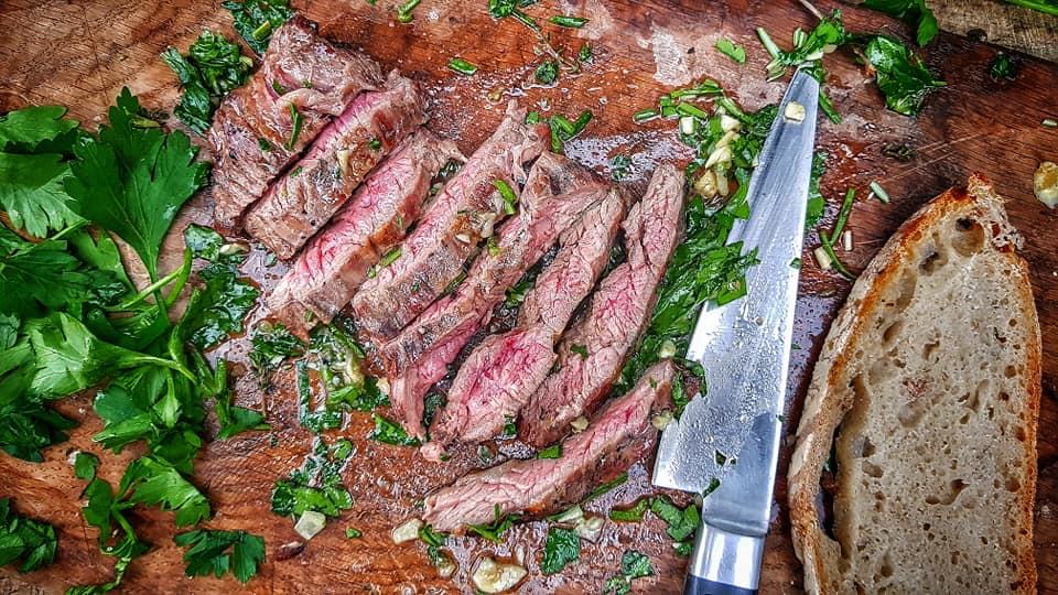 Dirty Steaks Sandwich