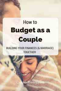 Learn how you two can work together to build up your money and marriage through a joint budget!