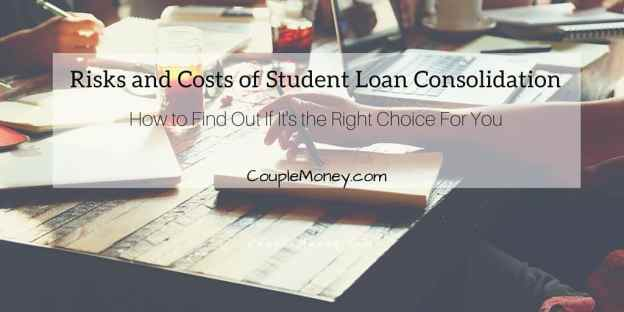 Learn how you can use student loan consolidations to give yourself some wiggle room on a tight budget.