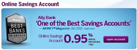 ally high yield online savings review