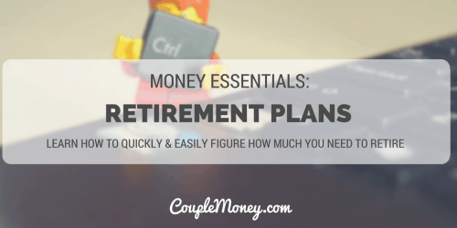 retirement planning tools couple money
