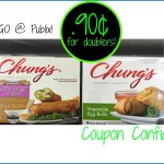 Chung's Gourmet Egg Rolls .90¢ for doublers @ Publix!