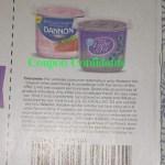 Dannon Whole Milk yogurt  .17¢ a cup! @ Publix