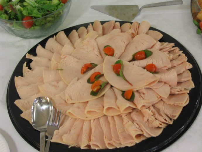 lunch meat tray