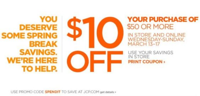 New JCP coupon