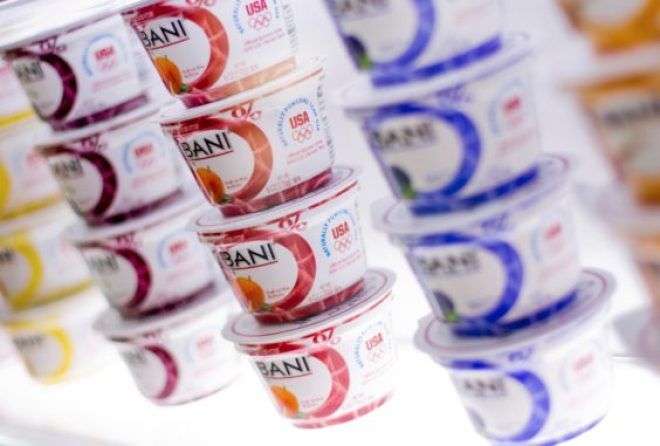 Chobani yogurt