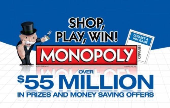 Albertsons Monopoly 2014