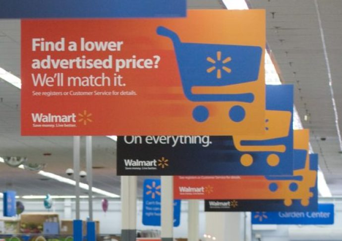 Major retailers such as Walmart offer price matching, which is a common form of bargaining.